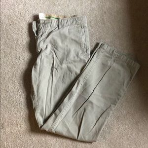 Gap Khaki Pants - The Lived-In Straight 34x32